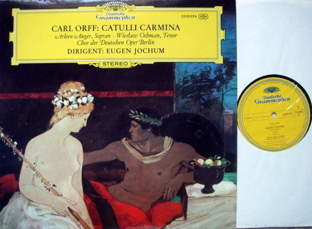 DG / EUGEN JOCHUM, - Orff Catulli Carmina, MINT!