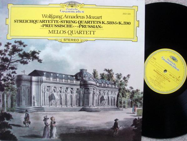 DG / MELOS QT, - Mozart String Quartets KV.589 & 590, MINT!