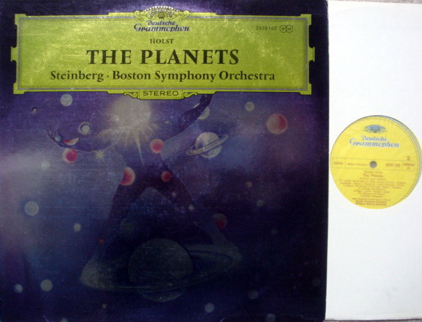 DG / STEINBURG-BSO, - Holst The Planets, MINT!