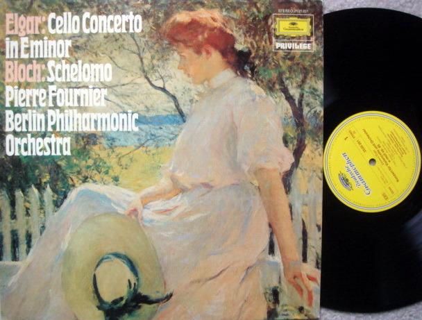 DG / FOURNIER-WALLENSTEIN, - Elgar Cello Concerto, VG+!