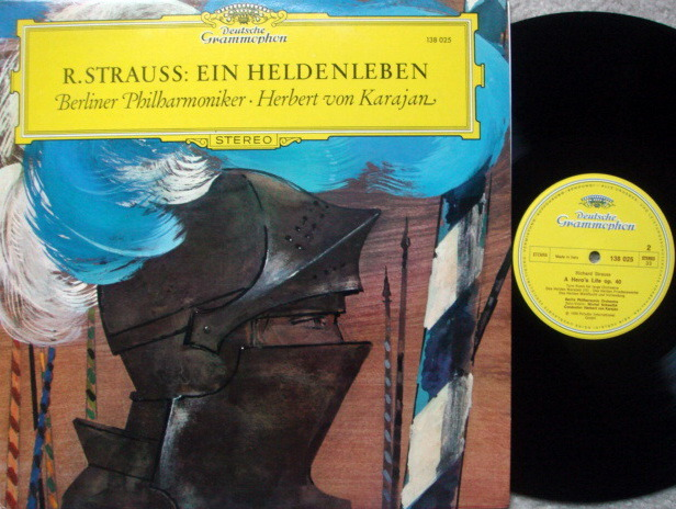 DG / KARAJAN-BPO, - R. Strauss A Hero's Life, MINT!