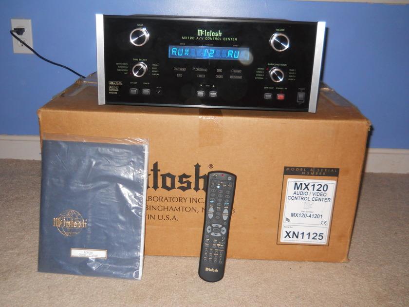 McIntosh MX120 AV Control Center