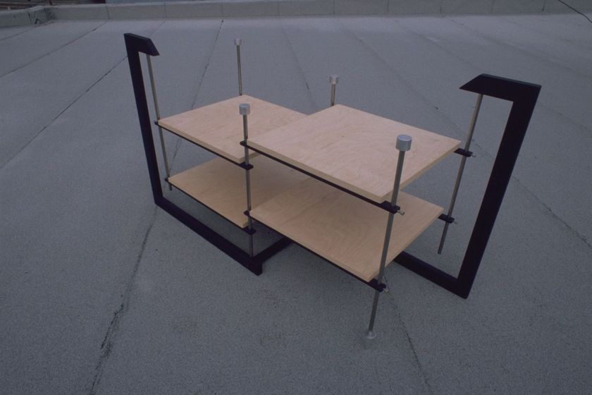 pARTicular Parallel Plasma/LCD/Audio stand