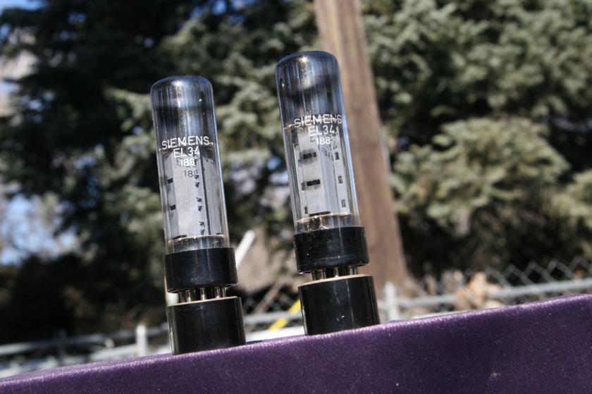 SIEMENS EL-34 QUAD Original Siemens boxes These won't last long!