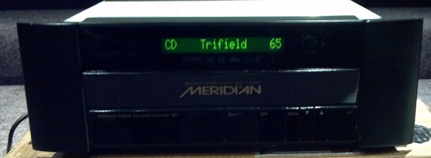 Meridian 861v4 pre/pro + HD621 HDMI processor 861v4 + HD621 bundle