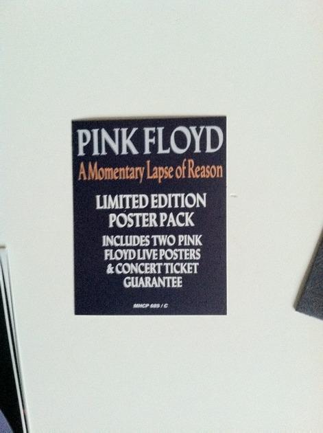 pink floyd - momentary lapse of reason japan lp cd