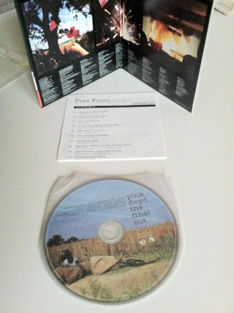 pink floyd - the final cut japan lp cd