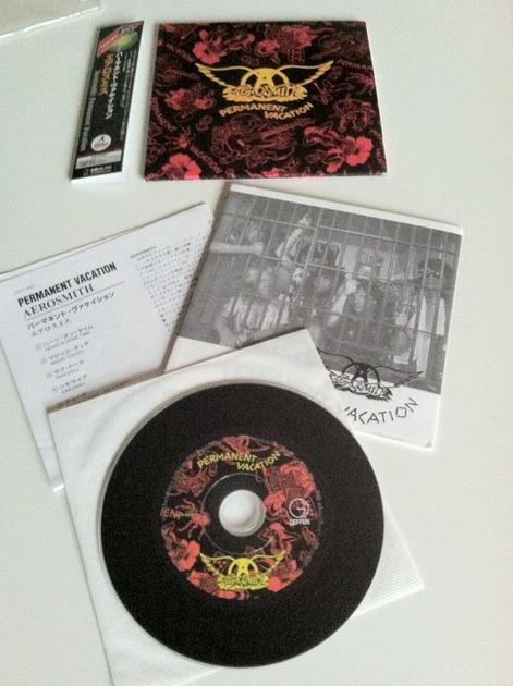 aerosmith - permanent vacation japan lp cd
