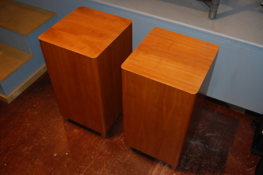 Audio Concepts, Inc. ACI Sub-1 (pair) Passive Subwoofers in Cherry