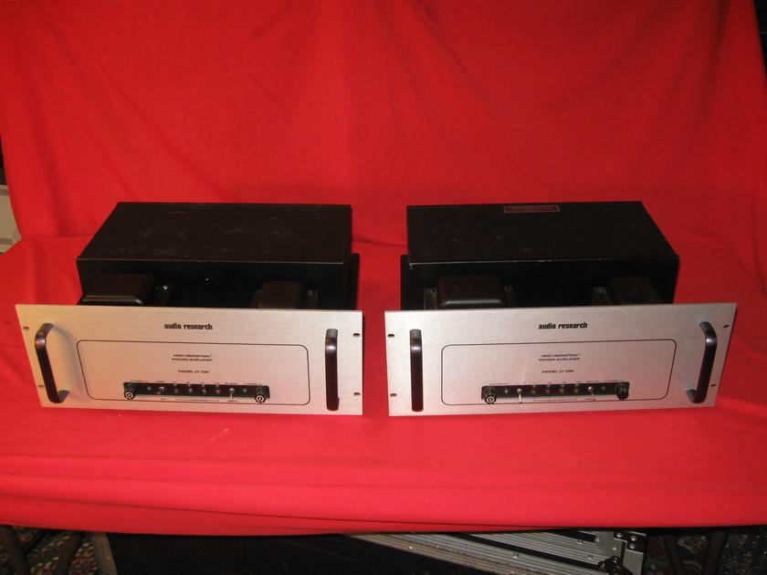 Audio Research M100 Mono tube amp pair