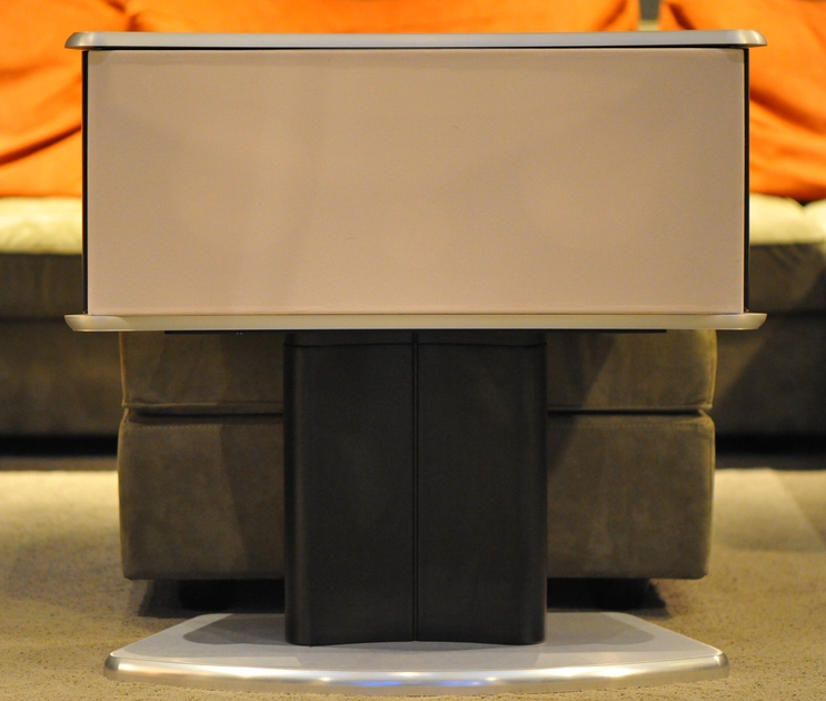Revel Ultima Voice center speaker and stand