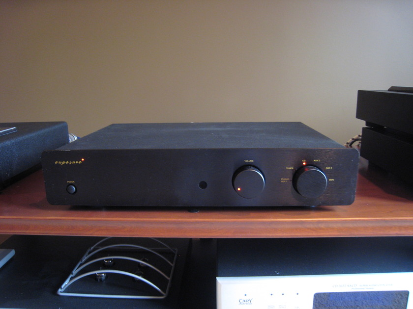 Exposure 2010S2 Integrated Amp black face plate