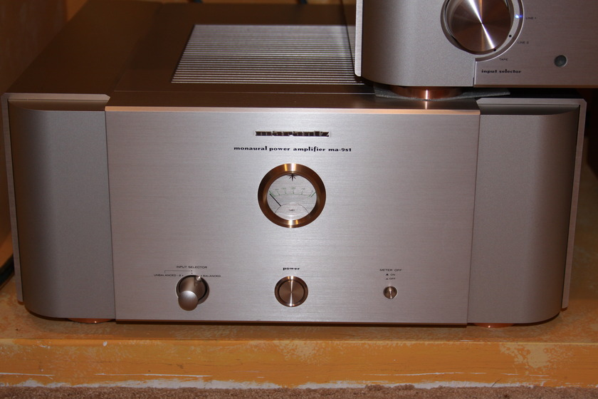 Marantz Reference MA-9S1 amplifiers Excellent OBM