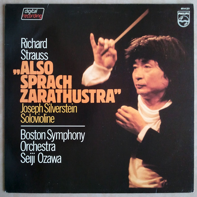 Philips/Ozawa/Strauss - Also sprach Zarathustra / NM