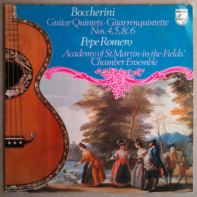 Philips/Romero/Boccherini - Guitar Quintets Nos. 4, 5, 6 / NM