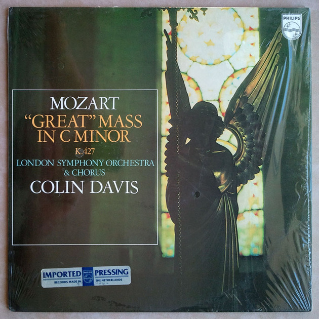 Philips/Davis/Mozart - Great Mass in C minor K.427 / 2-LP set / NM