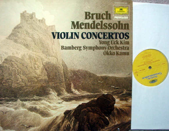 DG / KIM-KAMU, - Bruch-Mendelssohn Violin Concertos, MINT!