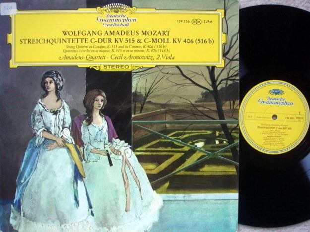 DGG / AMADEUS QT, - Mozart String Qunitets KV.515 & 406, MINT!