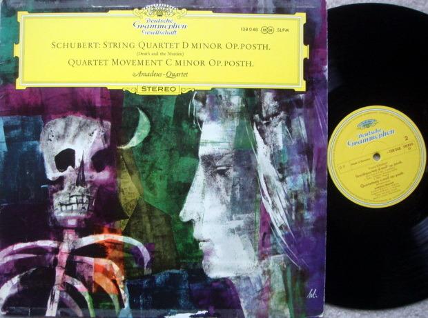 DGG / AMADEUS QT, - Schubert String Quartet Death & the Maiden, MINT!