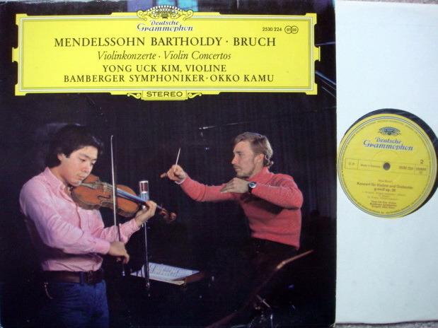 DG / YONG UCK KIM-KAMU, - Bruch-Mendelssohn Violin Concertos, MINT!