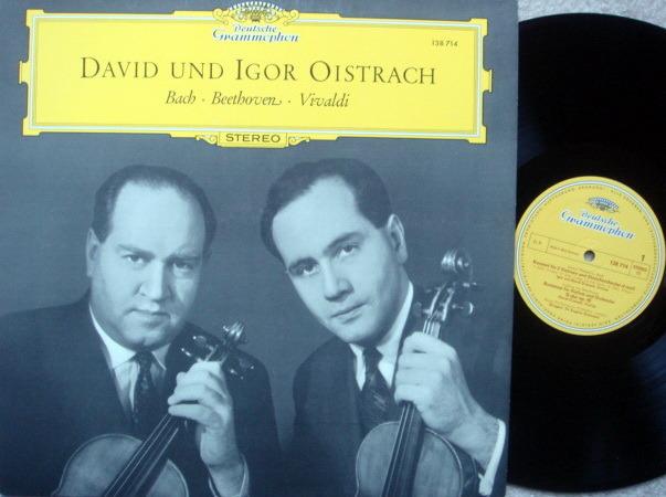 DG / DAVID & IGOR OISTRAKH, - Bach-Beethoven-Vivaldi, MINT!