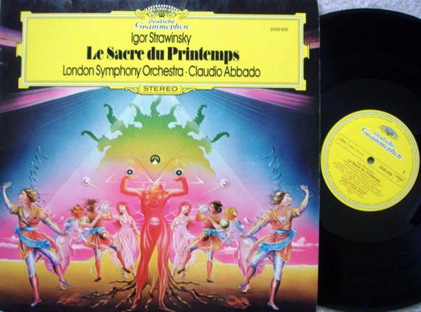 DG / ABBADO-LSO, - Stravinsky The Rite of Spring, MINT!
