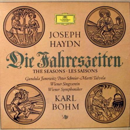 DG / BOHM-VPO, - Haydn The Seasons, MINT, 3LP Box Set!
