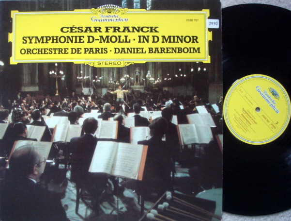 DG / DANIEL BARENBOIM,  - Franck Symphony in D Minor, MINT!