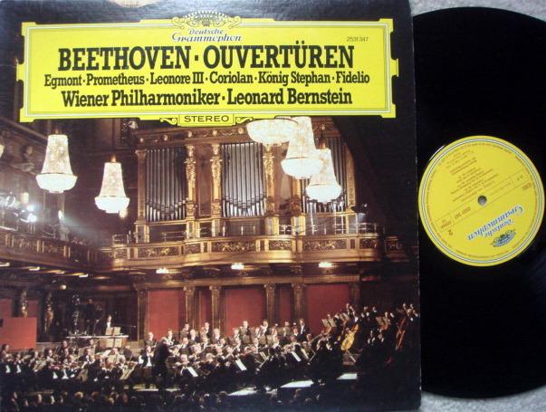 DG / BERNSTEIN-VPO, - Beethoven Overtures, MINT!