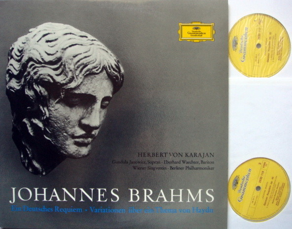 DG / KARAJAN-BPO, - Brahms A German Requiem, MINT, 2LP Set!