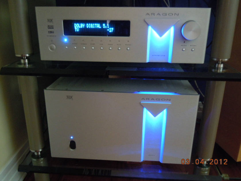 ARAGON (Anthem / McIntosh / Krell / Classe equiv) HOME THEATER PROCESSOR STAGE ONE - with $900 of extras Pristine Condition - REDUCED