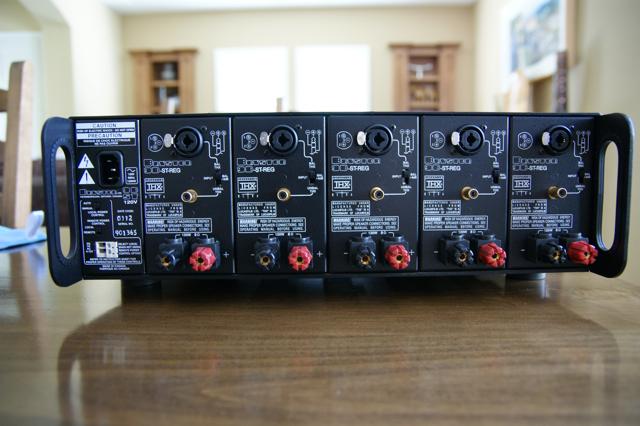 Bryston 9BST 5 channel amplifier