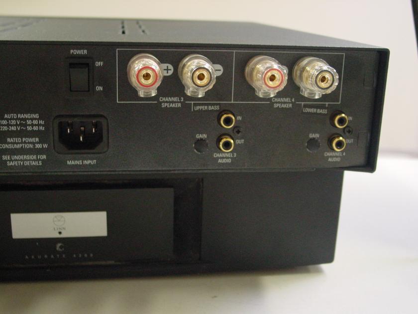 LINN AKURATE 3200 MULTI CHANNEL AMP - 200 WATTS / 3 CHANNEL Image not available   LINN AKURATE 3200 MULTI CHANNEL AMP - 200 WATTS / 3 CHANNEL Sell one like this  LINN AKURATE 3200 MULTI CHANNEL AMP  - 200 WATTS / 3 CHANNEL Excellent