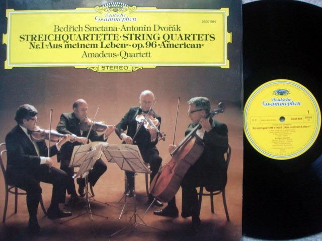 DG / AMADEUS QT, - Smetana-Dvorak String Quartets, MINT!
