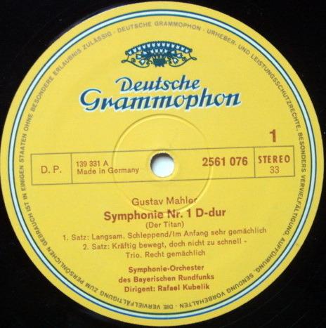 DG / RAFAEL KUBELIK, - Mahler Ten Symphonies, MINT, 14LP BOX Set!