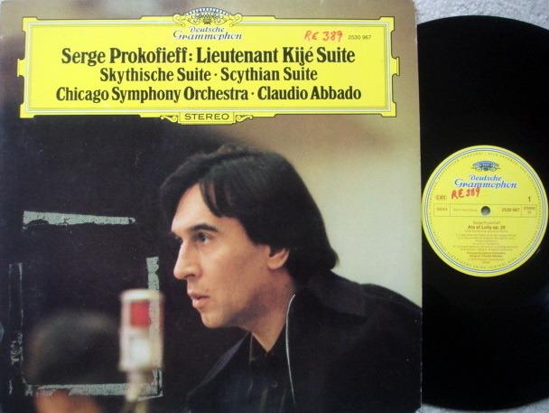 DG / CLAUDIO ABBADO-CSO, - Prokofieff Lieutenant Kije Suite, MINT!