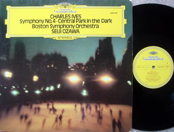 DG / SEIJI OZAWA-BSO, - Ives Symphony No.4, Cenral Park in the Dark, MINT!