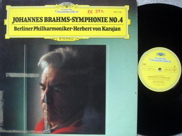 DG / KARAJAN-BPO, - Brahms Symphony No.4, MINT!