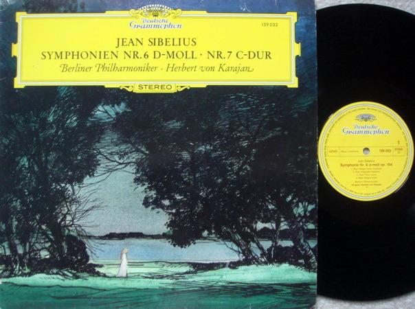 DG / KARAJAN-BPO, - Sibelius Symphony No.6 & 7, MINT!