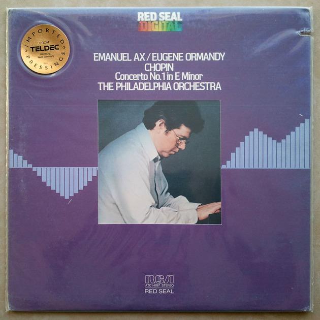 Sealed/RCA Digital/Emanuel Ax/Ormandy/Chopin - Piano Concerto No.1 / Teldec German Pressing