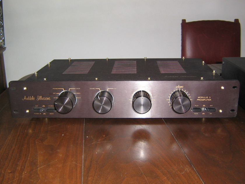 audible illusions modulus 3a  a classic in great condition