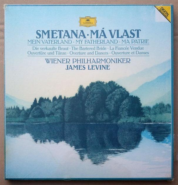Sealed/DG Digital/James Levine/Smetana - Ma Vlast (My Fatherland) / 2-LP Box Set