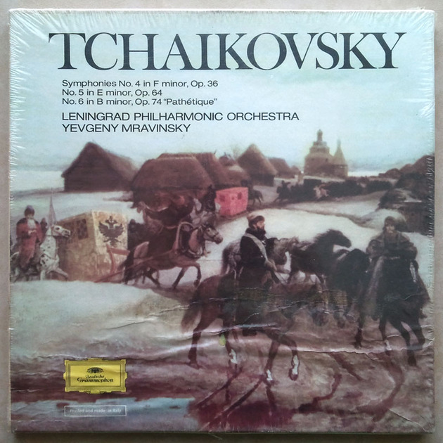 Sealed/DG/Mravinsky/Tchaikovsky - Symphonies Nos. 4, 5, 6