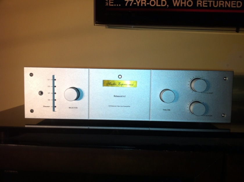 Audio Experience - YS Audio - Balanced A2 Tube Preamp with HT Bypass
