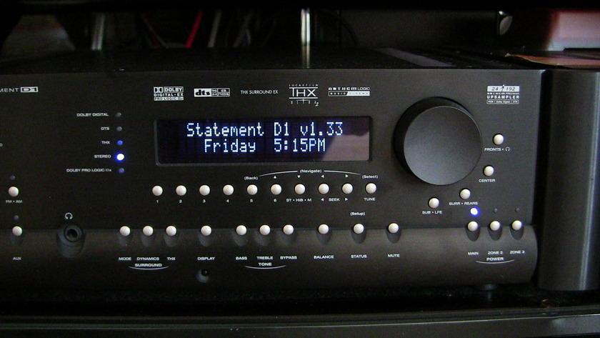 Anthem Statement D1 wonderful HT processor