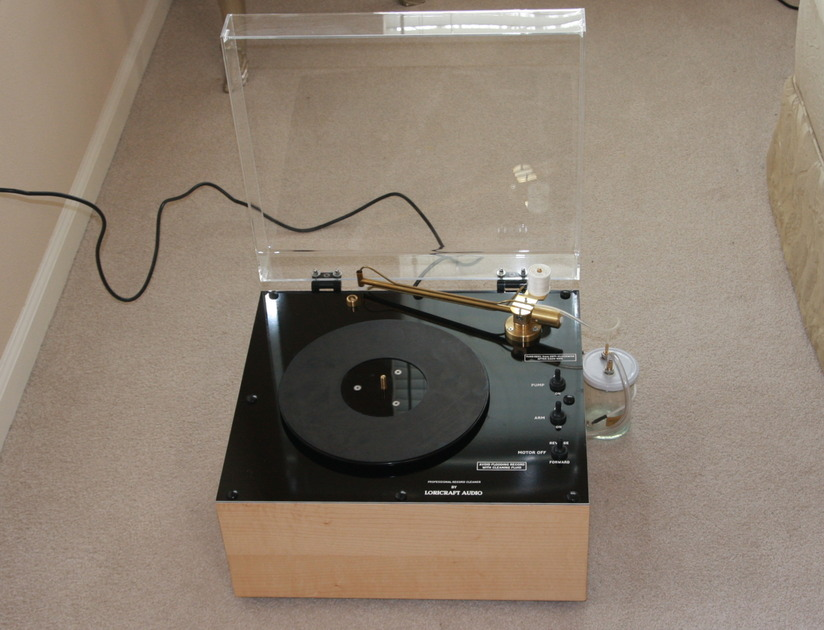 Loricraft PRC 4 Deluxe Record Cleaning Machine