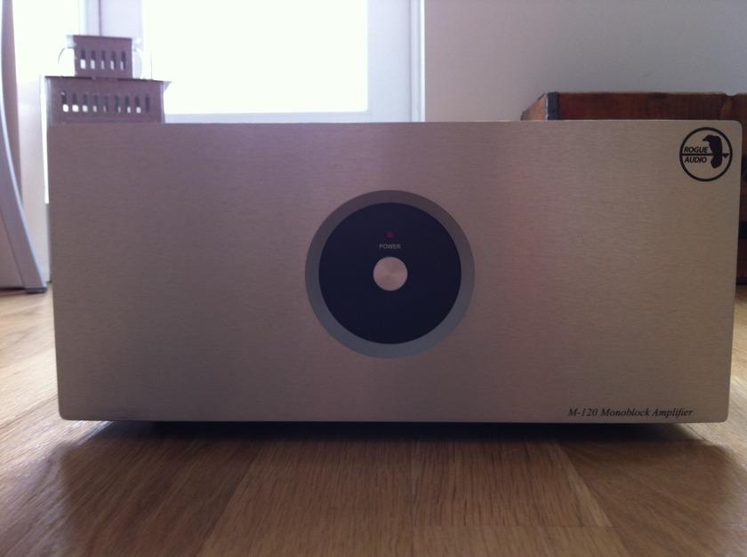Rogue Audio M120 Monoblock Tube Amplifiers