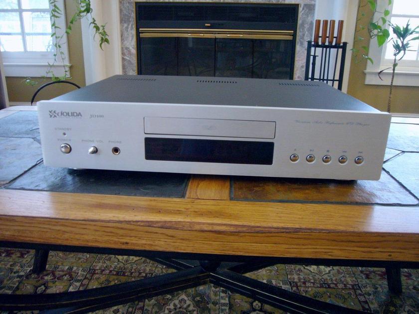 Jolida JD 100 Tube CD Player