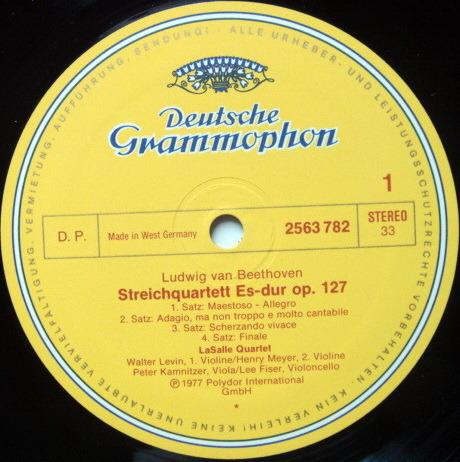 DGG / LASALLE QT, - Beethoven The Late String Quartets, MINT, 4LP Box Set!