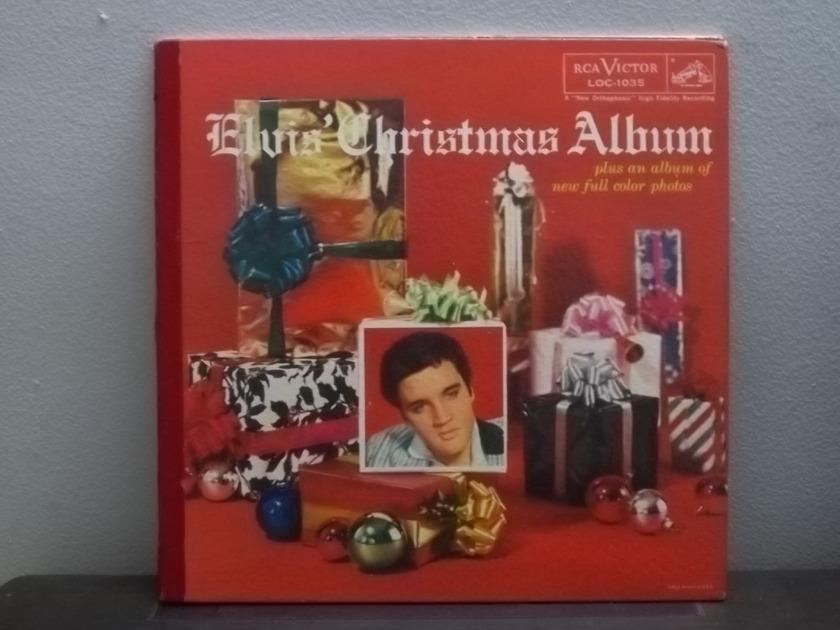 Elvis Presley Christmas Album - RCA LOC-1035  Promo Gatefold Picture lp